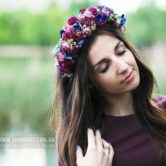 """Обруч """"Цветочная принцесса"""""""