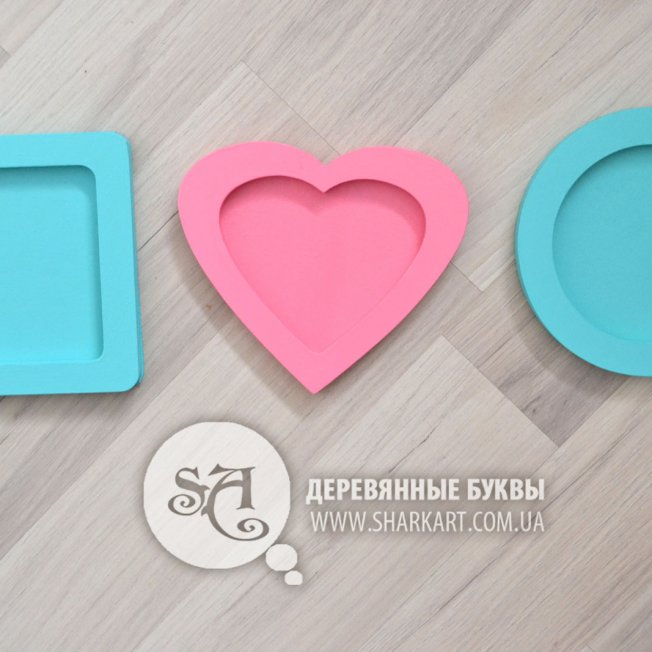 "Фраза ""It must be LOVE"" с рамочками"