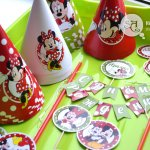 Мини-набор декора «Микки Маус» (для печати)