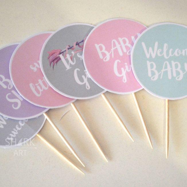 Набор декора на Baby Shower