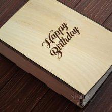 Блокнот А5 в подарочной коробке с гравировкой