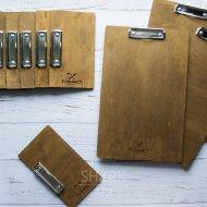 Деревянный планшет с гравировкой