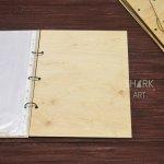 Набор деревянных обложек для меню