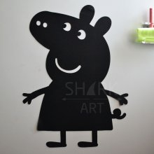 "Магнитная доска на холодильник ""Свинка Пеппа"""