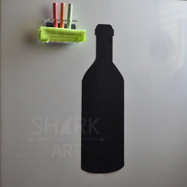 """Магнитно-грифельная доска на холодильник """"Бутылка"""""""