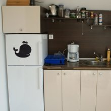 "Магнитно-грифельная табличка на холодильник ""Китенок"""