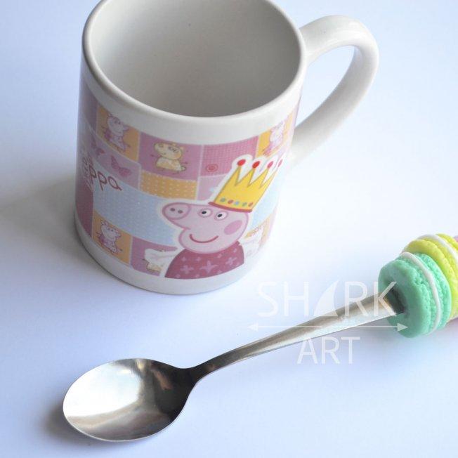 """Чайная ложечка """" Macaron mania"""""""
