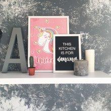 Постер А3 Unicorn