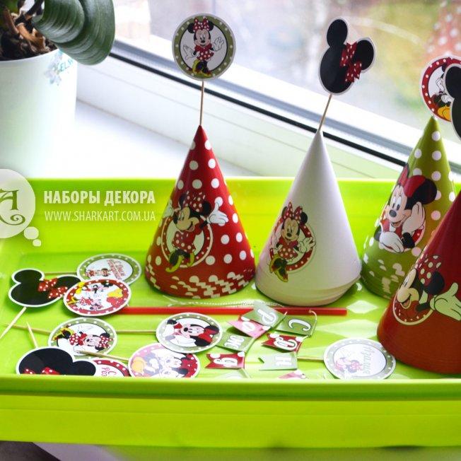 Набор декора «Микки Маус» (для печати)