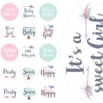 Набор декора на Baby Shower (для печати)
