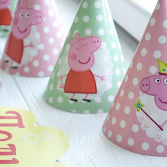 Набор декора «Свинка Пеппа» (для печати)