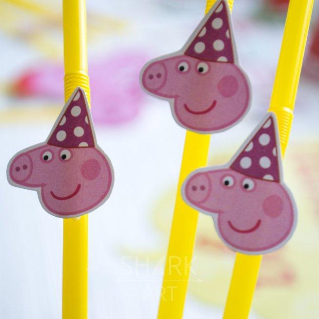 Мини-набор декора «Свинка Пеппа» (для печати)