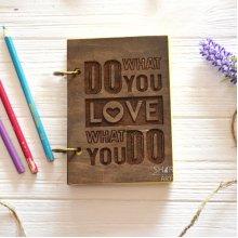 """Блокнот А5 """"Love What You Do"""""""