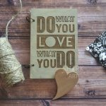 "Блокнот А5 ""Love What You Do"""