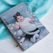 Блокнот с цветным фото или рисунком