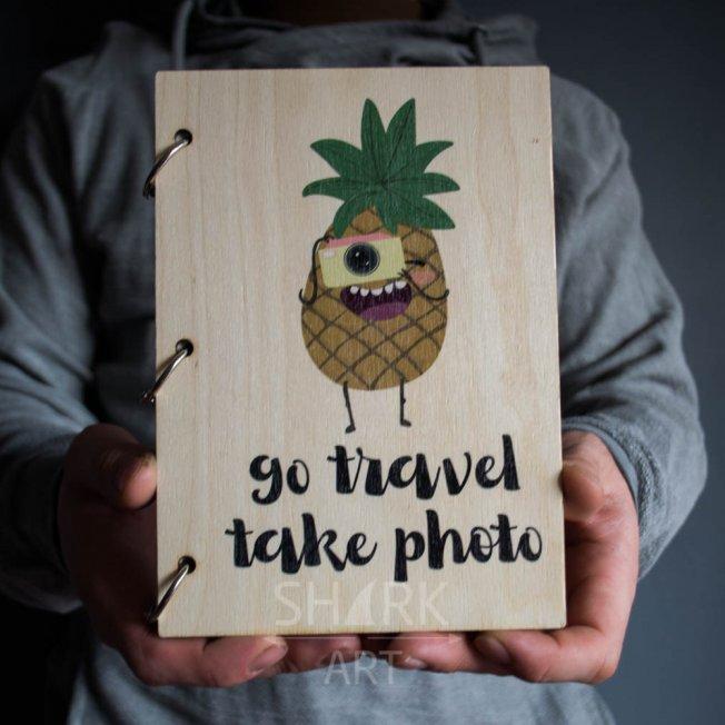 "Скетчбук ""Go travel"""