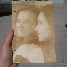Свадебная книга А5 с нанесением фото