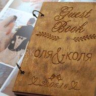 Свадебная книга пожеланий А5