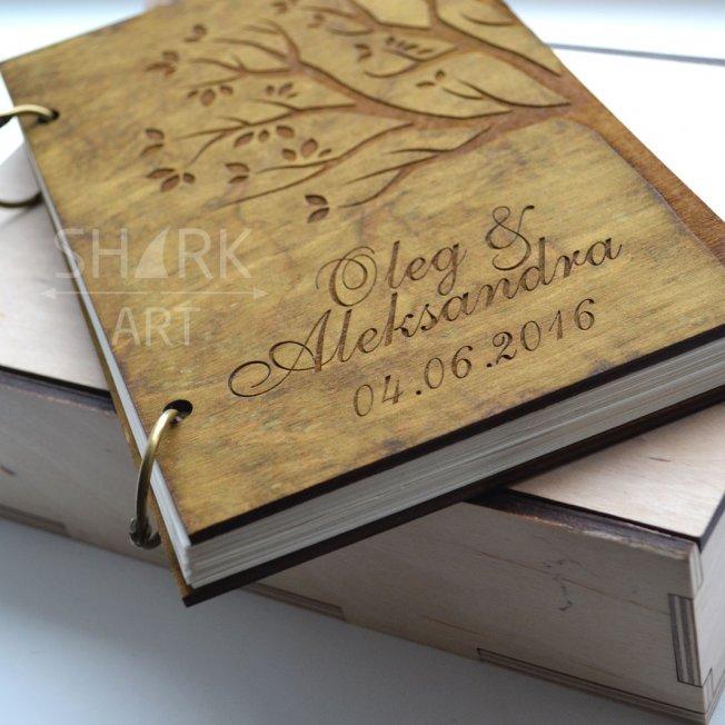Книга пожеланий на свадьбу А5