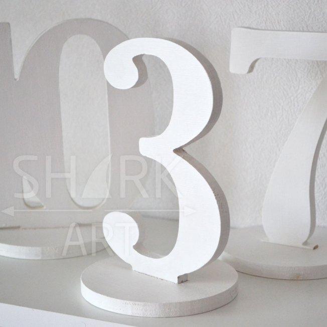 Набор цифр для банкетных столов