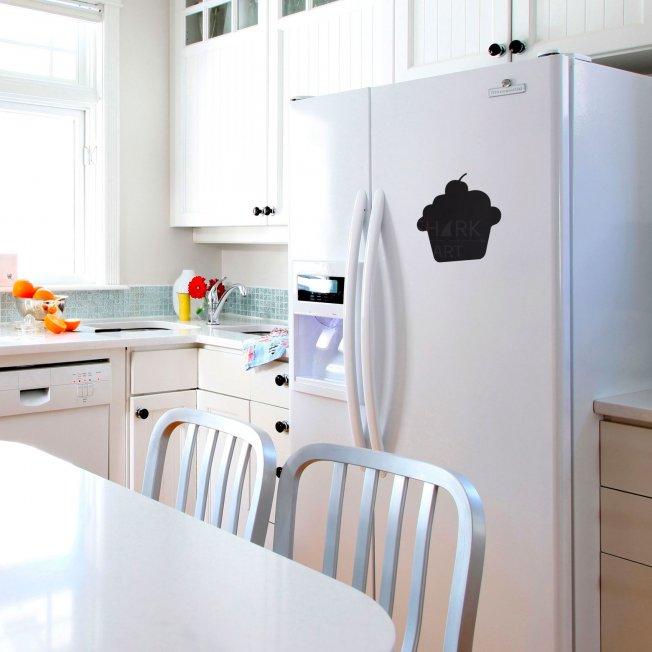 """Магнитно-грифельная доска на холодильник """"Кекс"""""""