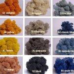 Стабилизированный разноцветный мох 1 кг