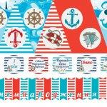 Мини-набор в Морском Стиле (для печати)